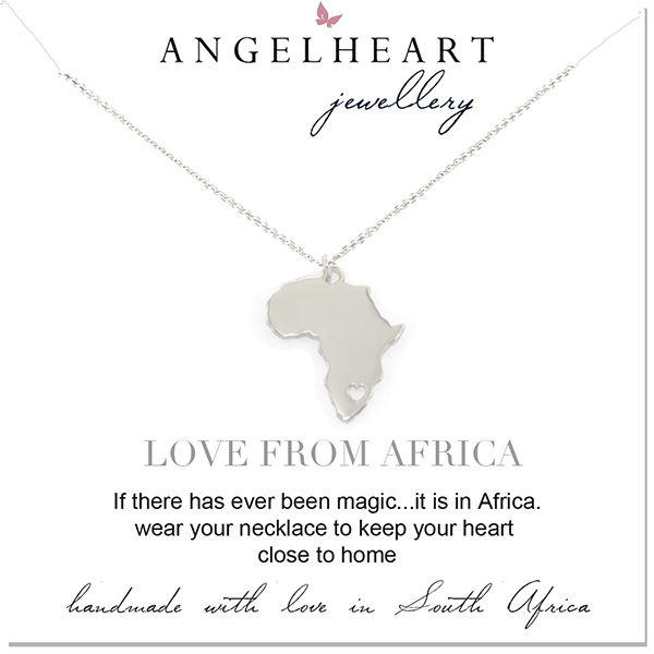 Large Africa Heart